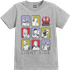 Star Wars The Last Jedi Light Side Kids Grey T-Shirt - 5 - 6 Years - Grey