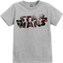 Star Wars The Last Jedi Spray Kids Grey T-Shirt - 5 - 6 Years - Grey