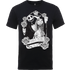The Nightmare Before Christmas Jack Skellington And Sally Black T-Shirt - L - Black