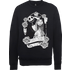 The Nightmare Before Christmas Jack Skellington And Sally Black Sweatshirt - M - Black