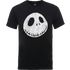 The Nightmare Before Christmas Jack Skellington Crinkle Black T-Shirt - L - Black