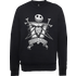 The Nightmare Before Christmas Jack Skellington Misfit Love Black Sweatshirt - L - Black