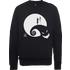The Nightmare Before Christmas Jack And Sally Moon Black Sweatshirt - XL - Black