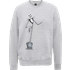 The Nightmare Before Christmas Jack Skellington Full Body Grey Sweatshirt - S - Grey