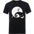 The Nightmare Before Christmas Jack And Sally Moon Black T-Shirt - XL - Black