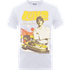 Star Wars Luke Skywalker Rock Poster T-Shirt - White - M - White