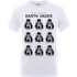 Star Wars Many Faces Of Darth Vader T-Shirt - White - XXL - White