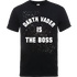 Star Wars Darth Vader Is The Boss T-Shirt - Black - M - Black