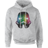 Star Wars Vertical Lights Stormtrooper Pullover Hoodie - Grey - L - Grey