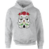 Star Wars Day Of The Dead Stormtrooper Pullover Hoodie - Grey - XL - Grey