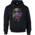 Star Wars Paint Splat Stormtrooper Pullover Hoodie - Black - M - Black