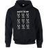 Star Wars Many Faces Of Darth Vader Pullover Hoodie - Black - L - Black