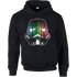 Star Wars Vertical Lights Stormtrooper Pullover Hoodie - Black - L - Black