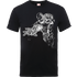 Marvel Avengers Assemble Iron Man Mono Sketch T-Shirt - Black - L - Black