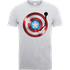 Marvel Avengers Assemble Captain America Record Shield T-Shirt - Grey - XXL - Grey