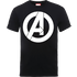 Marvel Avengers Simple Logo T-Shirt - Black - M - Black
