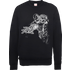Marvel Avengers Assemble Iron Man Mono Sketch Sweatshirt - Black - L - Black