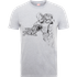 Marvel Avengers Assemble Iron Man Mono Sketch T-Shirt - Grey - L - Grey