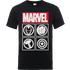 Marvel Avengers Assemble Icons T-Shirt - Black - L - Black