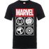 Marvel Avengers Assemble Icons T-Shirt - Black - L - Black