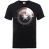 Marvel Avengers Assemble Captain America Shield Shiny T-Shirt - Black - L - Black
