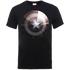 Marvel Avengers Assemble Captain America Shield Shiny T-Shirt - Schwarz - S - Schwarz