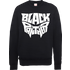 Black Panther Emblem Sweatshirt - Black - L - Black