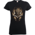 Black Panther Gold Erik Womens T-Shirt - Black - L - Black