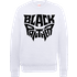 Black Panther Emblem Sweatshirt - White - S - White