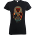 Black Panther Totem Womens T-Shirt - Black - S - Black