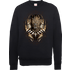 Black Panther Gold Erik Sweatshirt - Black - L - Black