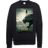 Black Panther Poster Sweatshirt - Black - S - Black
