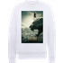 Black Panther Poster Sweatshirt - White - S - White