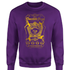 Harry Potter Honeydukes Chocolate Frogs Sweatshirt - Purple - L - Purple