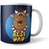 Bullseye Best Dad Mug Mug