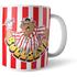 Bullseye Striped Mug