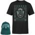 Harry Potter Slytherin T-Shirt Und Kappe Paket - Schwarz - Herren - L - Schwarz