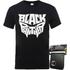 Black Panther T-Shirt & Wallet Bundle - Men's - S - Black