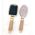 2019 hot brush Crystal  portable Golden Square cushion massager shiny  paddle hair brush