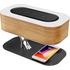 Masdio 2019 Best Seller Wireless Charging Nightstand Lamp with Wireless Speaker Bedside Table Light