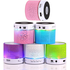 Cute Wireless Remote Control Musical glowing LED Mini lamp Bluetooth Speaker With Sucker