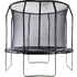 Air King Pro 10ft Trampoline with Safety Enclosure Black