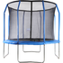 Air King Pro 10ft Trampoline with Safety Enclosure Blue