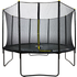 Velocity 12ft Powder Coated Trampoline with Safety Enclosure