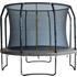 Big Foot 12ft Trampoline with Enclosure Black