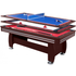 Air King Triple Master 7ft 3 in 1 Deluxe Table with Mahogany Body