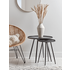 Round Industrial Side Table - Small