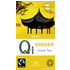 Qi Organic Green Tea With Ginger 25 Bags