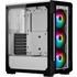 Corsair iCUE 220T ATX RGB White Avec Window