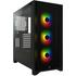 Corsair iCUE 4000X RGB Black Avec Window